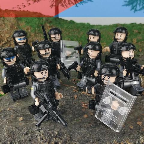Минифигурки Военных SWAT серия 431