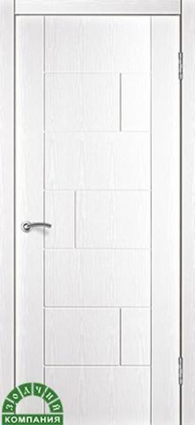 Дверь Белла (ясень белый, остекленная ПВХ), фабрика Зодчий