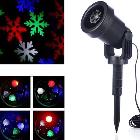 Лазерный проектор уличный Star Shower Laser Light делает фигуры