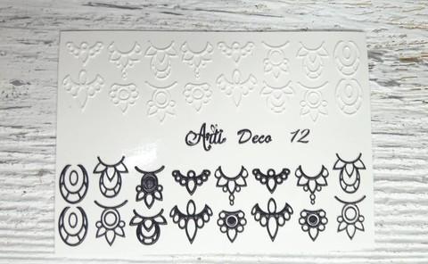 Слайдер Arti 3D Deco № 012