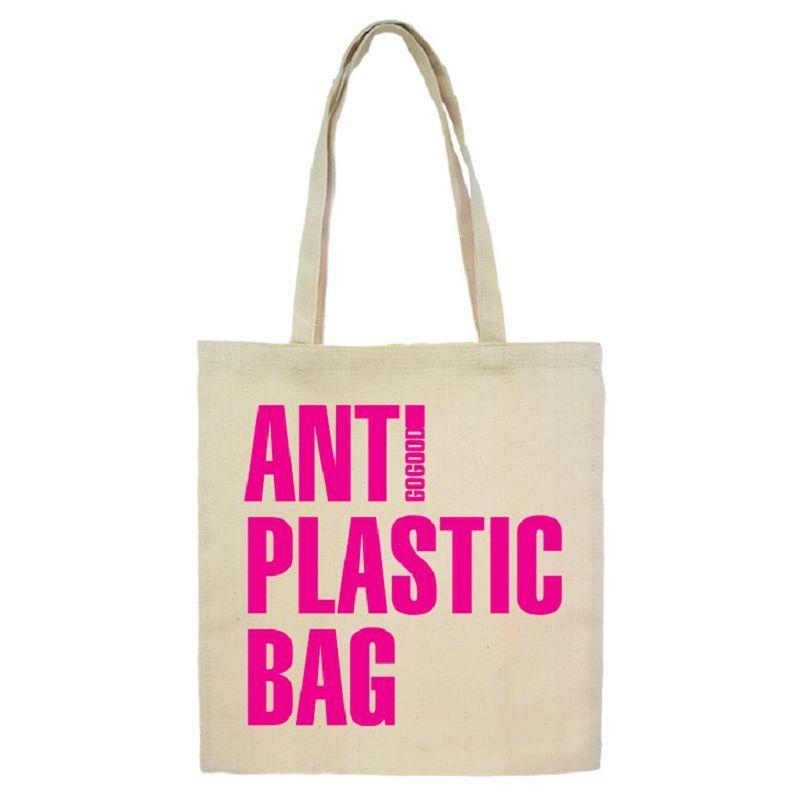 Шоппер ANTI PLASTIC BAG, 40х37 см