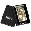 Зажигалка Zippo Classic, латунь с покрытием Gold Dust, золотистая, матовая, 36х12x56 мм