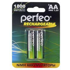 Аккумуляторы Perfeo R6, AA 1800mAh Ni-MH