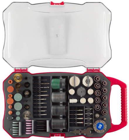 Набор мини-насадок ЗУБР для гравировальных машин, 208 предметов