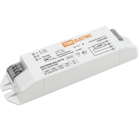 Электронный пускорегулирующий аппарат EB-T8-118-EA2 TDM