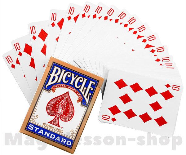 Колода одинаковых карт Bicycle Standard