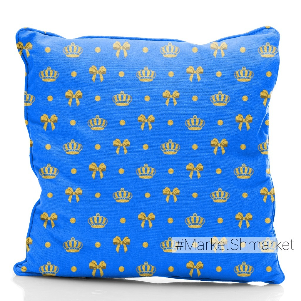 королевский синий, золото на голубом