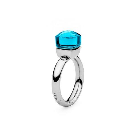 Кольцо Firenze dark aquamarine 17.2 мм 610897/17.2 BL/S