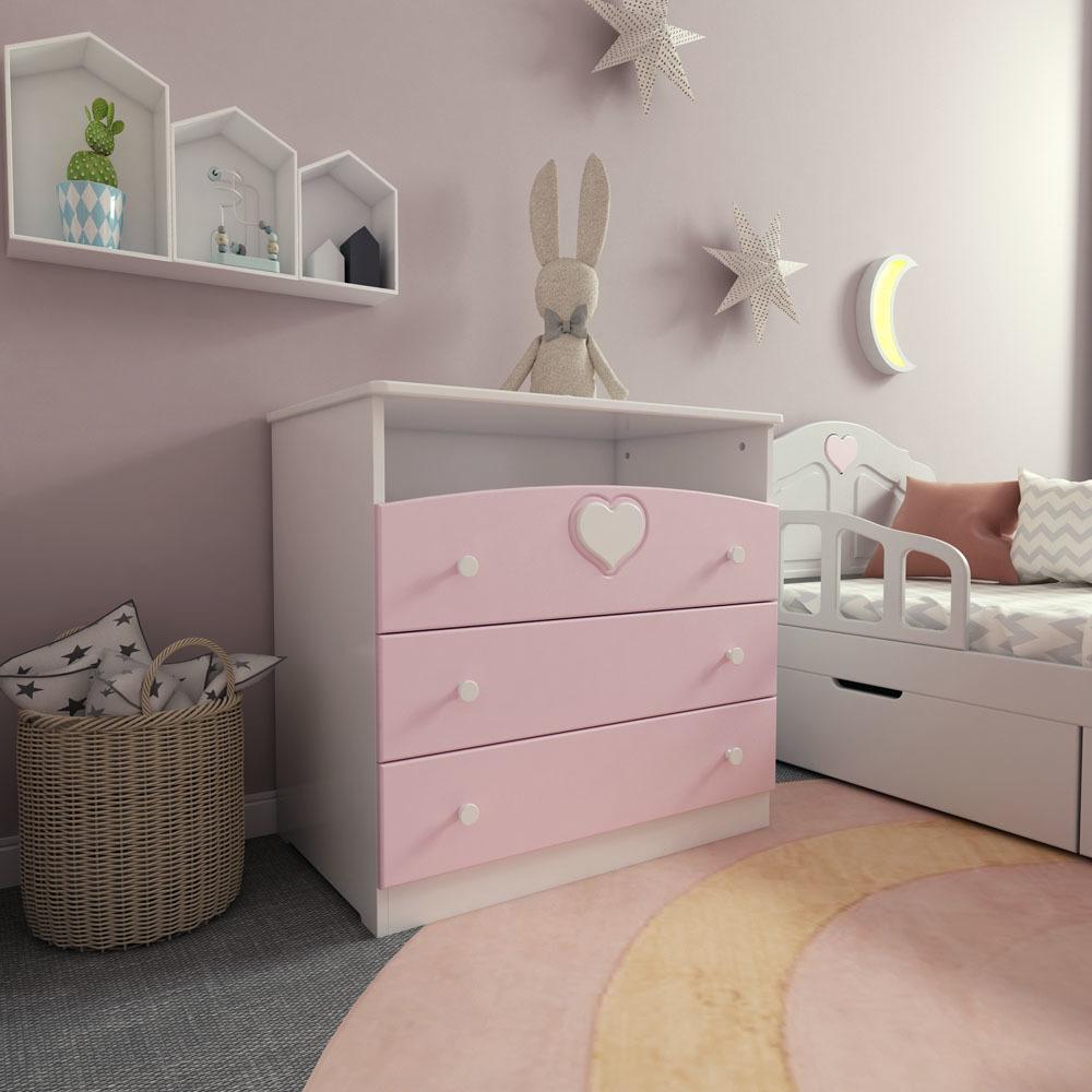 Комод Феалта-baby Мечта Розовый