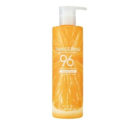 Holika Holika Tangerine Refreshing Essence 96% Soothing Gel гель для лица и тела, 390 мл