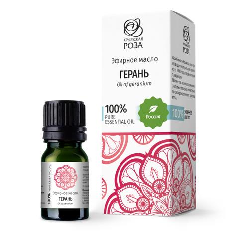 Эфирное масло Герань / Крымская роза, 5 мл