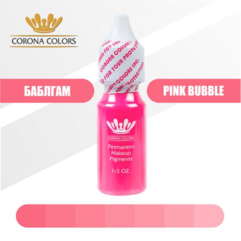 Пигмент Corona Colors Баблгам (Pink Bubble) 15 мл
