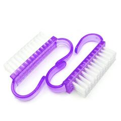 Щеточка маленькая для удаления пыли, цвет фиолетовый, 2шт в упаковке