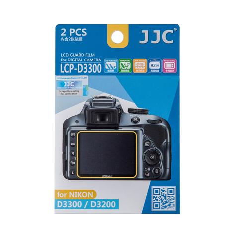 Набор защитных пленок JJC 2в1 для Nikon D3300