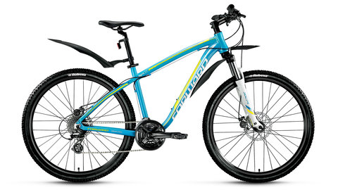 Forward Agris Lady 27.5 2.0 disc (2016)	синий с желтым