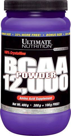 Аминокислоты Ultimate Nutrition BCAA Powder 12000