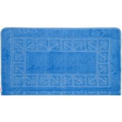 Коврик для ванной BANYOLIN 60х100 см ворс, голубой