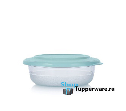 чаша СК 275 мл с бирюзовой крышкой tupperware