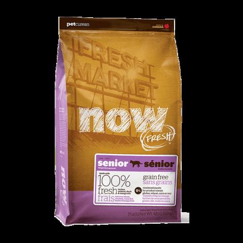 Now Fresh Holistic Senior Сухой корм для пожилых кошек контроль веса с индейкой, уткой и овощами беззерновой