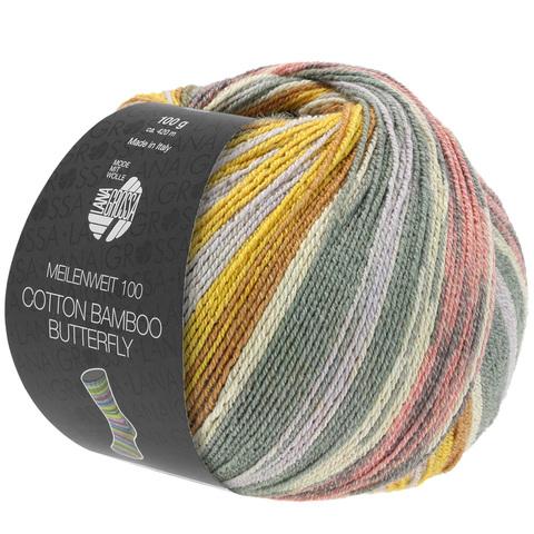 Lana Grossa Meilenweit Cotton Bamboo Butterfly 2454 купить