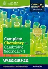 Cambridge Checkpoint Science Secondary 1, Chemistry, W. Book Oxford University Press