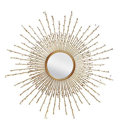 19-OA-5890 Зеркало декоративное d101см