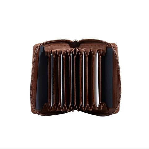 B120251R Cognac - Футляр для карт MP с RFID защитой