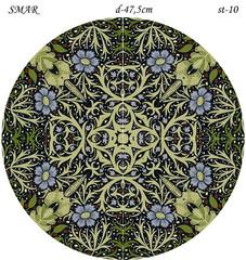 Эскиз для росписи, Круг диаметр-47,5см, SMAR-st-10