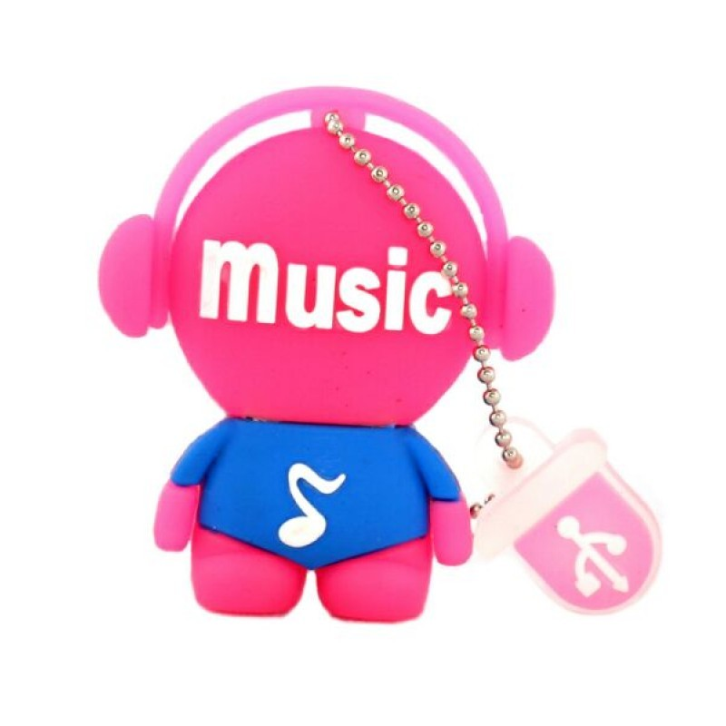 usb-флешка человек музыка