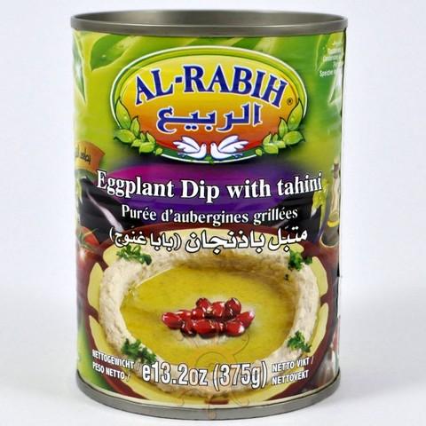 """Закуска ливанская """"Баба Гануш"""" (баклажаны с тахини) Al-Rabih, 380г"""