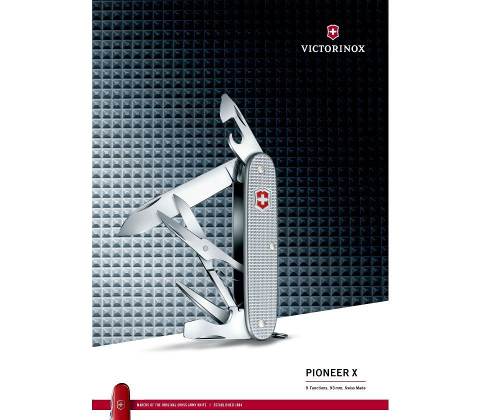 Складной нож Victorinox Pioneer X Alox (0.8231.26)
