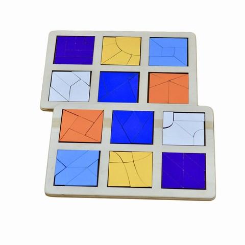 Логическая игра Сложи квадрат Б.П. Никитин уровень 3 RadugaKids (Радуга Кидс) арт. RK1140