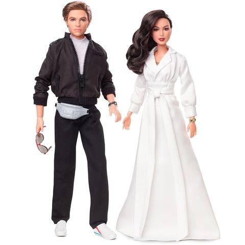 Барби Диана Принц в Гала-платье и Стив Тревор. Чудо-Женщина 1984