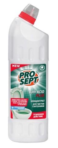 Гель д/удаления ржавчины и минеральных отложений PROSEPT Bath Acid + концентрат 750мл