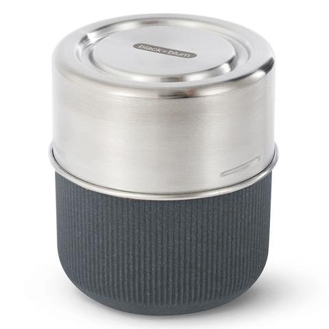 Ланч-бокс Black+Blum, Glass Lunch Pot, 450 мл, серый