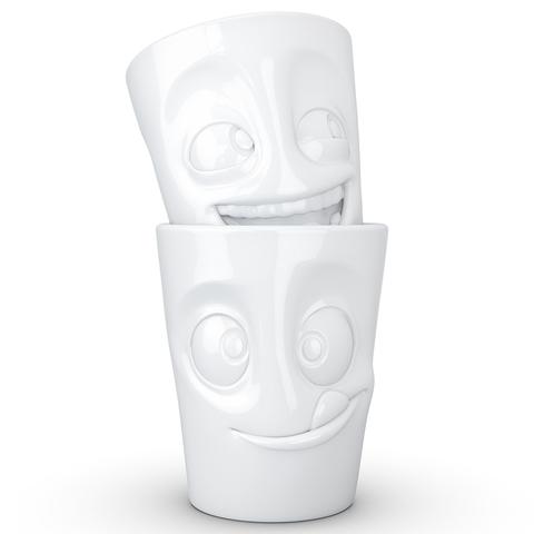 Набор из 2 кружек Tassen Joking & Tasty 350 мл белый