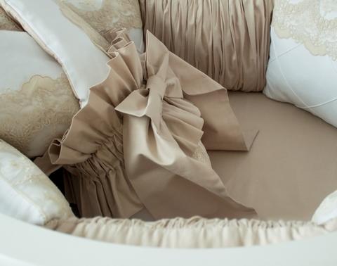 Бант на одеяло- конверт Taupe