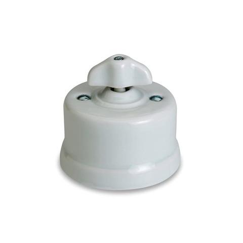 Выключатель поворотный 10А 250В~. Цвет Белый. Fontini Garby(Фонтини Гарби). 30306302