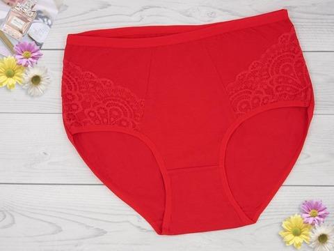 9052-2 трусы женские, красные