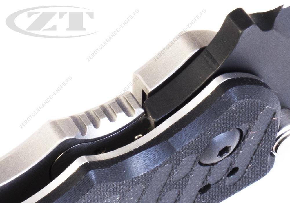 Нож Zero Tolerance 0550BLK GEN3 HINDERER - фотография