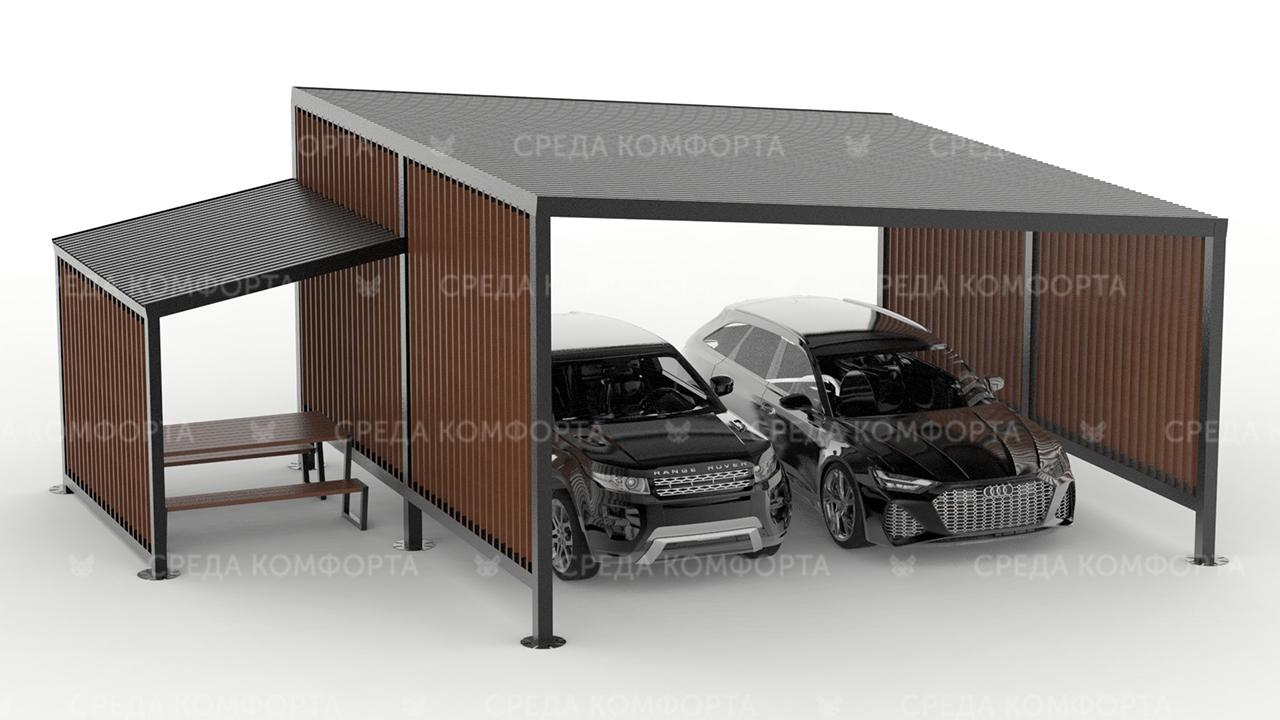 Навес для автомобиля AVNVS0066