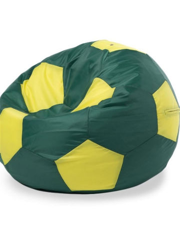 Кресло-мешок «Мяч» Зелено-желтый