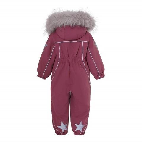 Комбинезон Molo Pyxis Fur Recycle Maroon зимний
