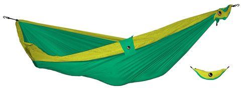 Картинка гамак туристический Ticket to the Moon compact hammock Green - Yellow - 1