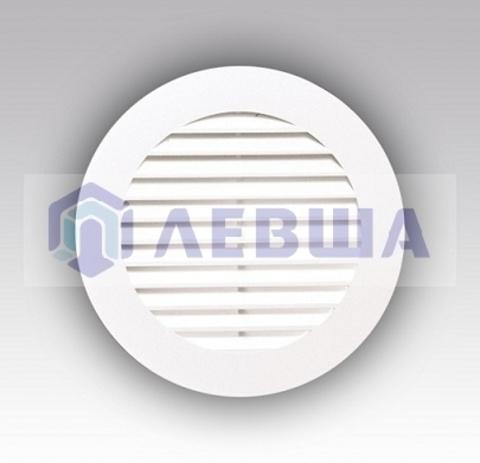 Решетка вытяжная круглая с фланцем D150