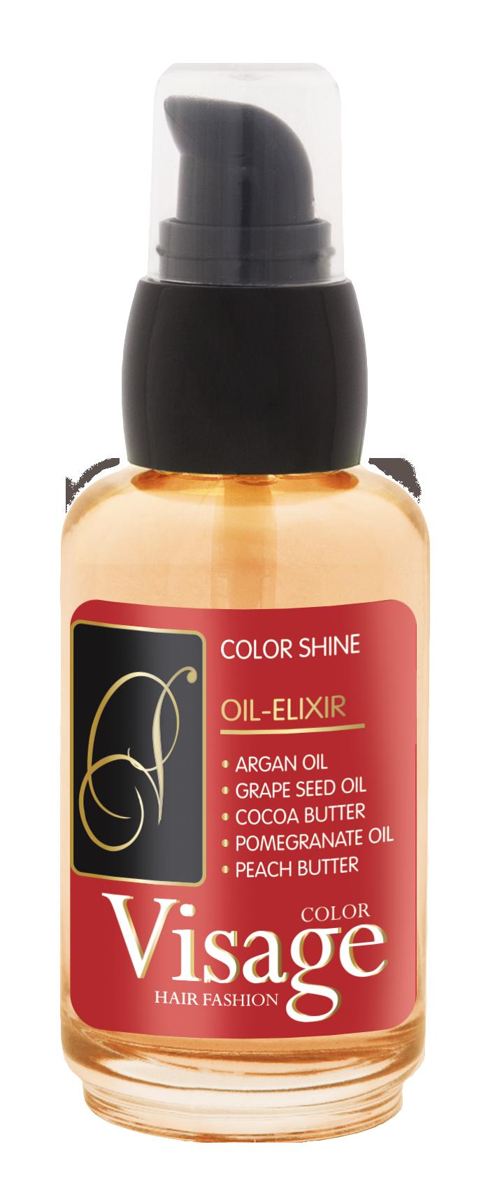 Эликсир 5 масел для окрашенных волос, Visage Oil-Elixir Color Protect, 50 мл