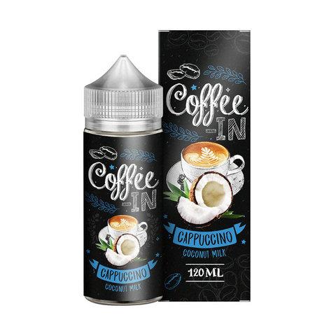 Жидкость Coffee-in 120 мл Cappuccino Coconut Milk