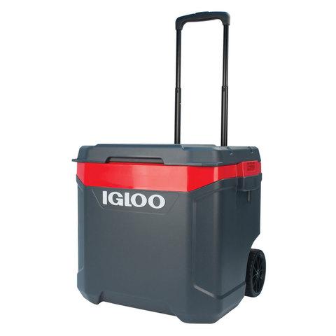 Изотермический контейнер (термобокс) Igloo Latitude 60 Roller (56 л.), серый