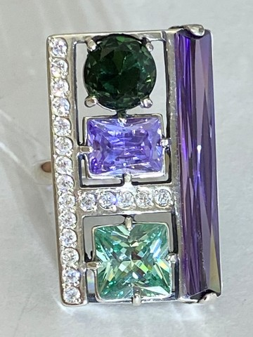 Авантаж (кольцо  из серебра)