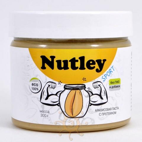 Паста арахисовая с протеином Nutley, 300г